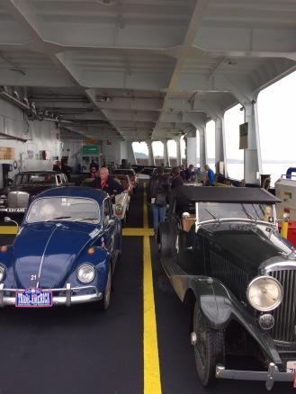 Op de veerboot naar Quebec