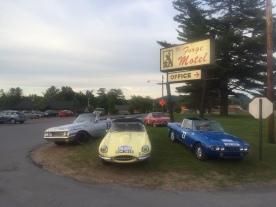Classic Car show bij de Old Forge firefighters