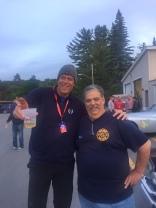 Tom en Jamie (chief fire department)