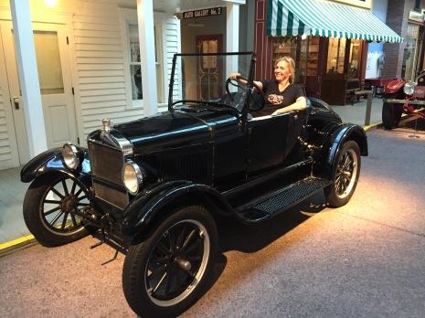 In het National Automobile Museum